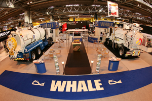 WHALE MAKES WAVES AT CV SHOW