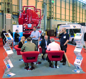WHALE CELEBRATES INCREASED DEMAND AT CV SHOW