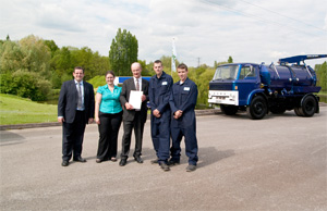MP ACKNOWLEDGES WHALE'S ENGINEERING TRAINING WITH IMECHE