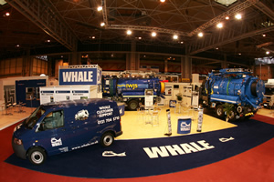 WHALE MAKES BIG SPLASH AT CV SHOW