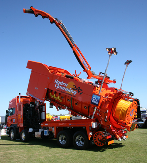 WHALE'S KING OF RECYCLERS TAKES ON TRUCKFEST