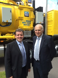 BUSINESS SECRETARY GIVEN FLAVOUR OF MIDLANDS ENGINEERING EXCELLENCE