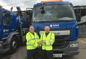 WHALE TANKERS 'CLEANS UP' WITH SOLIHULL COUNCIL