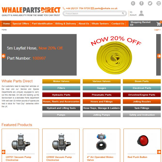 Whale Parts Direct