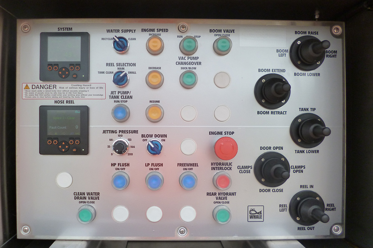 Urban Recycler Control Panel