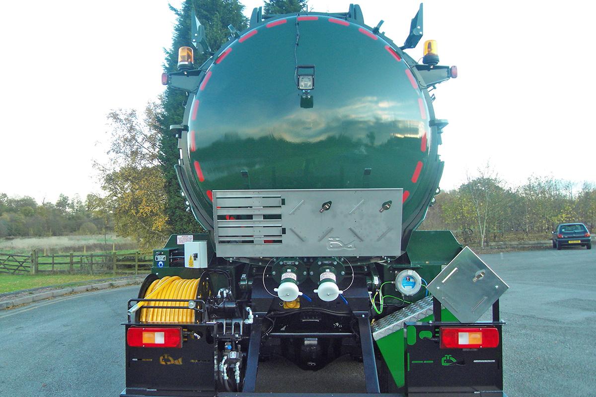 ADR Vacuum Tankers
