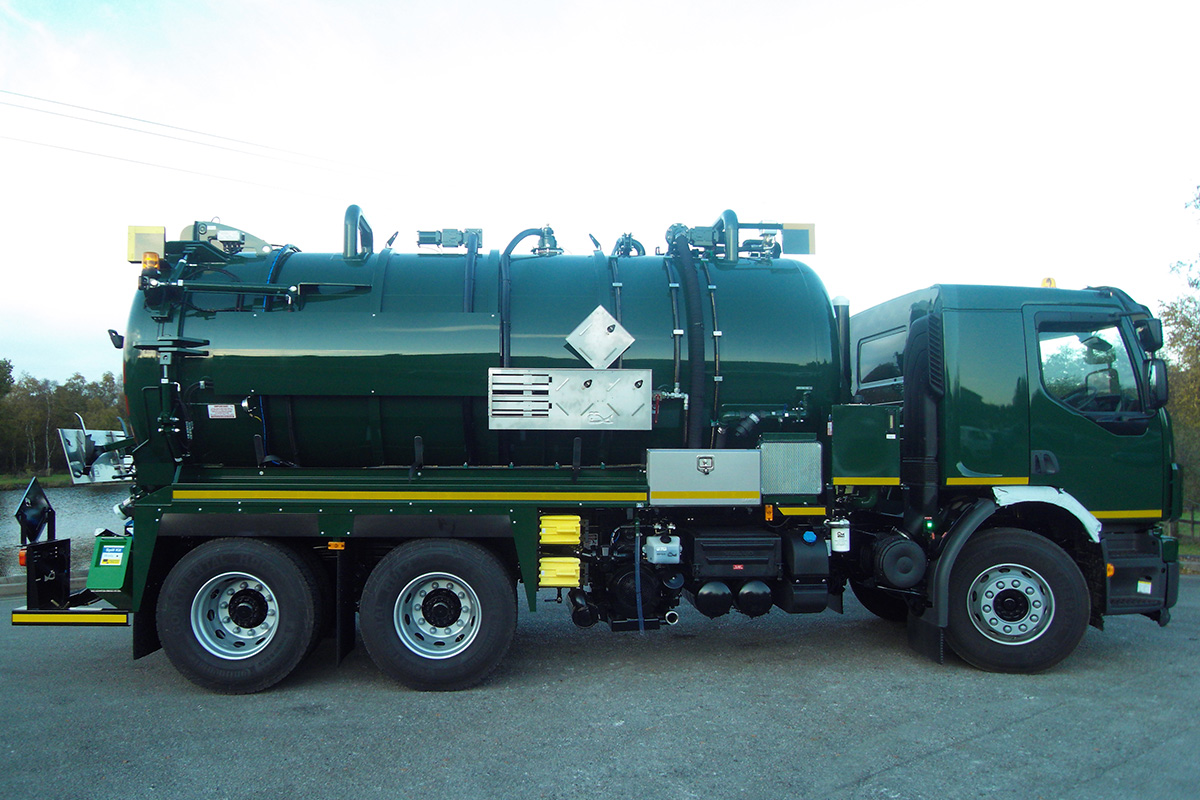 ADR Vacuum Tankers - Whale Tankers