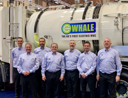 Whale Tankers Makes Waves At CV Show