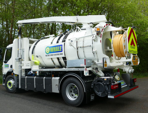 Whale Tankers Showcases UK's First Fully Electric MVC at APSE